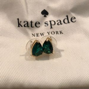 Kate Spade Emerald Studs